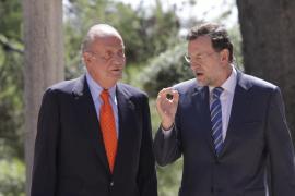 Rajoy despachará con el Rey en Marivent el próximo 9 de agosto