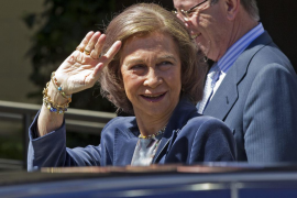La Reina Sofía ya ha comenzado sus vacaciones de verano en Mallorca
