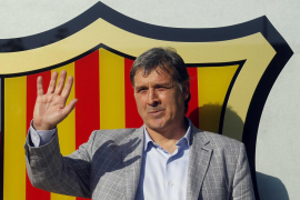 Tata Martino ya está en Barcelona