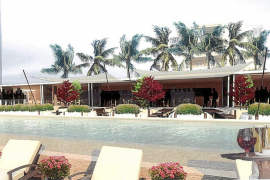 La antigua piscina de Cala Estància se convertirá en un Beach Club