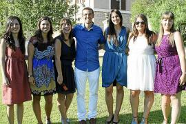 Fiesta de graduación en la Universitat