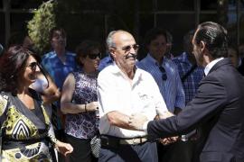 Imatges i tall de veu del president Bauzá a l'homenatge als dos guàrdies civils assassinats Diego Salvà i Carlos Sáenz de Tejada