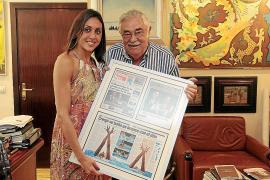 Marga Crespí luce su éxito en el Mundial