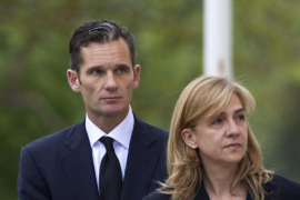 La infanta Cristina residirá en Suiza por trabajo y Urdangarin seguirá en Barcelona