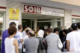 Balears, con un descenso del 8,2 %, lidera la caída del paro en el último año
