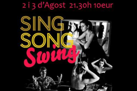 Sing Song Swing: un espectáculo musical en Sa Possessió