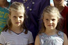 La familia Real en Calanova