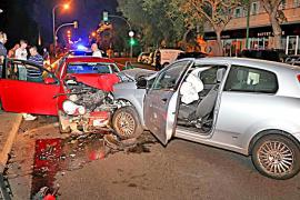 Accidentada noche en Palma
