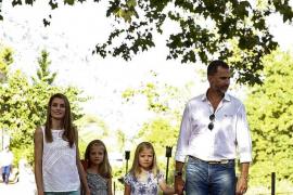 Los príncipes de Asturias eligen la Granja de Esporles para su posado familiar