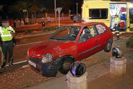 Permanece en estado crítico la  mujer accidentada en la carretera vieja de Andratx