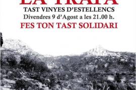Cata solidaria de vinos de Estellencs para reforestar La Trapa