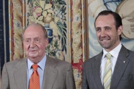 Bauzá al Rey: «Les queremos mucho»