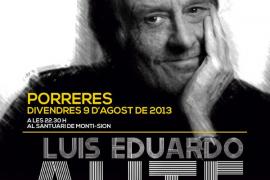 Luis Eduardo Aute en Porreres