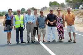 La vía provisional podría cerrarse con la reapertura de la carretera antigua