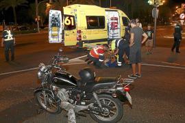 Tres heridos en dos accidentes de tráfico en el Passeig Marítim de Palma