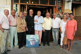Pedro Lorente presenta sus obras en hoyo 10