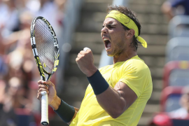 Sufrida victoria de Nadal sobre Janowicz en Montreal (7-6 y 6-4)