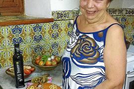 Tomates asados con arenques y Oli de Mallorca D.O.