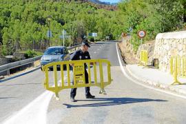 La carretera de Andratx a Estellencs vuelve a estar abierta 15 días después del incendio