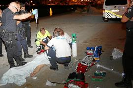 Rescatan de morir ahogados a un niño de 4 años y a una mujer de 70 en Palma y Portals