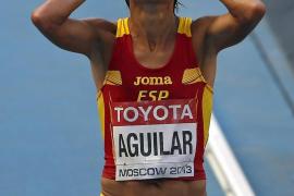 Alessandra Aguilar hace historia al proclamarse quinta en el maratón del Mundial de Moscú