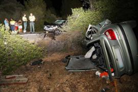Tres heridos, uno de ellos crítico, en un accidente de tráfico registrado en Algaida