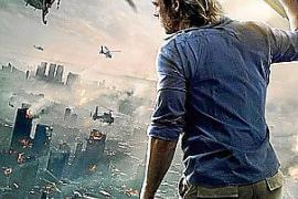 'Guerra Mundial Z' lleva a Brad Pitt a lo más alto del listado