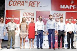 María Salom, Casimiro Sanjuan, Teresa Palmer, Margalida Duran, José Ramón Bauzá, Felipe de Borbón, Mateo Isern, Javier Sanz y Ra