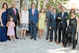 Antoni Serra y Antònia Marqués contraen matrimonio en Lloseta