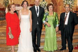 Enlace matrimonial de Antoni Serra y Antònia Marqués