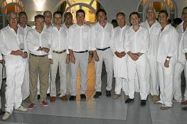 Tradicional cena de armadores en el Club Náutico de Palma