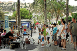 Semana de máxima ocupación hotelera del verano con récord en Son Sant Joan