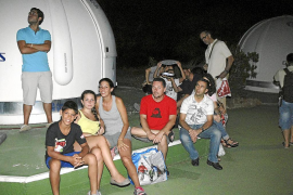 Palma observacion perseidas en el observatorio de costix foto miquel