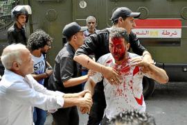 Las protestas islamistas derivan en disturbios en el centro de El Cairo