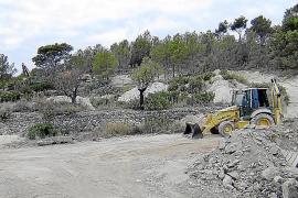 ARCA denuncia que unas obras en Andratx causan daños al medio ambiente y al patrimonio cultural