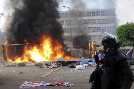 Decenas de muertos en el desalojo de las acampadas islamistas en El Cairo