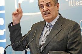 El PP  admite que no tiene 'plan B' si los jueces declaran incompatible a Bauzá