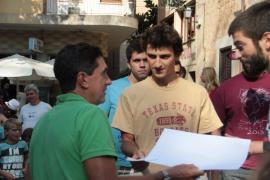 Jaume Matas abucheado en Sóller
