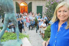 Gudi Moragues pide apoyo para  la creación, como pregonera en Sóller