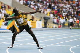 Bolt completa el 'hat trick' de 200 metros