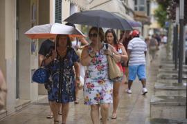 Se prevé que este domingo haya tormentas en Baleares