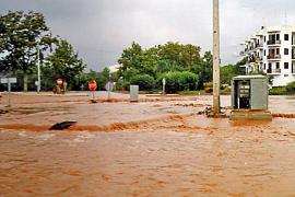 Vecinos de Portocolom alertan del riesgo de inundaciones por las obras del Club Nàutic