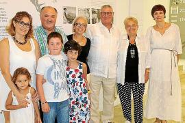 Inauguración de la exposición 'blanc d blancs' de Coll Bardolet