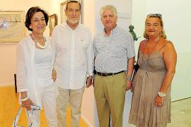 Inauguración de la exposición 'blanc de blancs'.