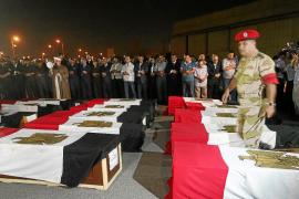 La policía egipcia sufre el mayor golpe desde que comenzaron las protestas
