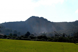 La cantera de Ca na Siona, en Alcúdia, se restaurará con las cenizas de es Murterar