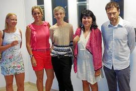 Marta Fuster presenta su obra en galería Vanrell