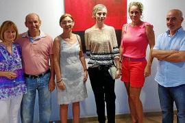 Inauguración de la obra de Marta Fuster.