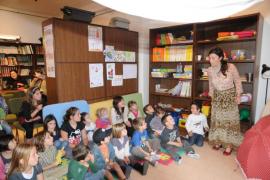 Los niños son los protagonistas de las fiestas de Estellencs 2013
