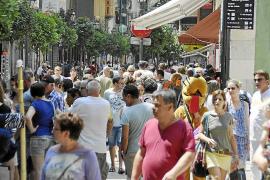 La llegada de turistas extranjeros a Balears registra su mejor julio desde 1995